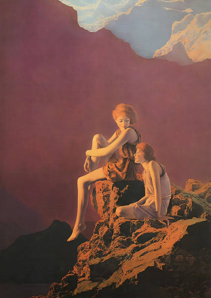 Wall Art - Photograph - Contentment  by Maxfield Parrish