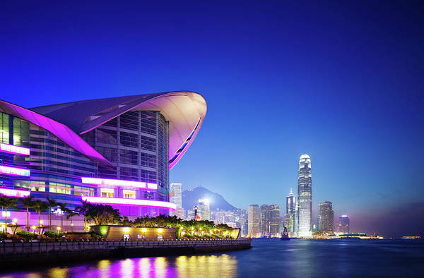 Exhibition Photograph - Convention Center, Hong Kong by Tomml