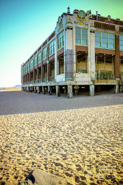 Wall Art - Photograph - Convention Hall Beach View by Colleen Kammerer