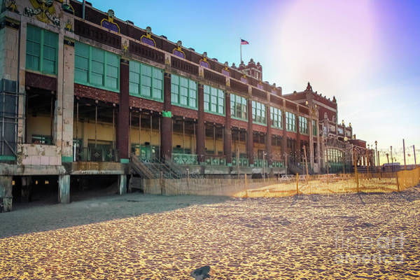 Wall Art - Photograph - Convention Hall The Golden Hour by Colleen Kammerer