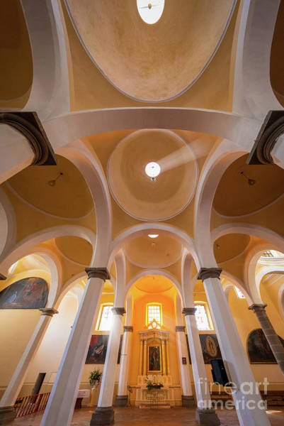 Photograph - Convento De San Gabriel Ceiling by Inge Johnsson