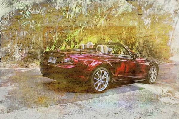 Photograph - Convertible On The Loop by Alice Gipson