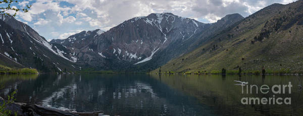 Photograph - Convict Lake Panorama  by Michael Ver Sprill