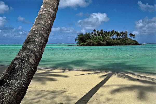 Rarotonga Photograph - Cook Islands Beach by Glen Allison