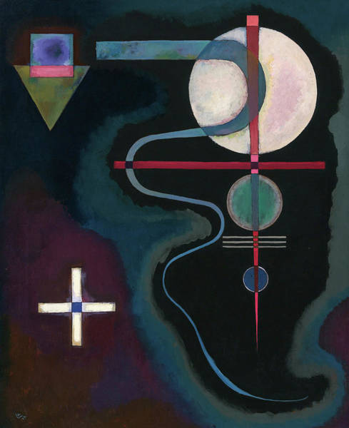 Experiment Painting - Cool Energy, 1926 by Wassily Kandinsky
