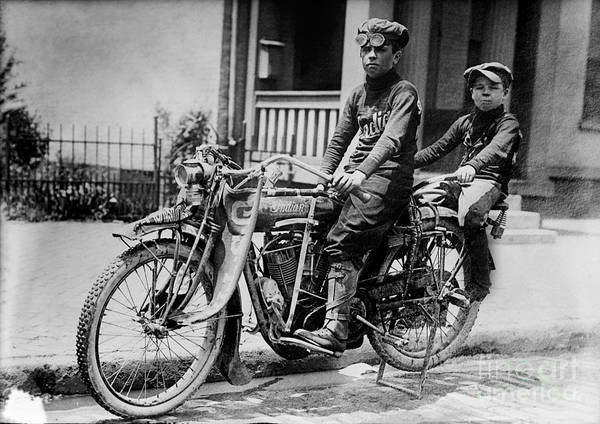 Victory Motorcycle Photograph - Cool Indian by Jon Neidert