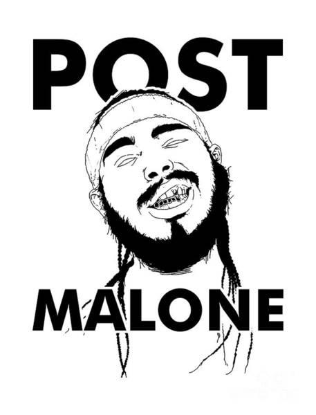 Deja Vu Digital Art - Cool Malone Smile by Joshfalacy