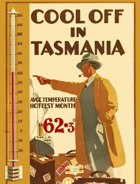 Off Digital Art - Cool Off In Tasmania by Long Shot