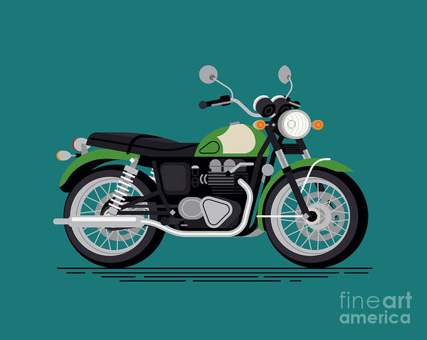 Wall Art - Digital Art - Cool Vector Classic Design Street by Mascha Tace