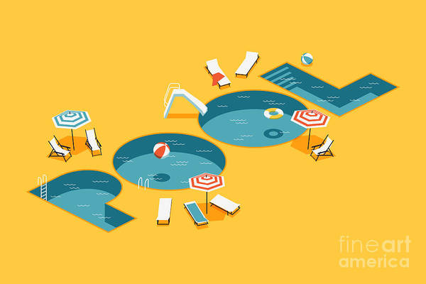 Wall Art - Digital Art - Cool Vector Creative Concept Design On by Mascha Tace