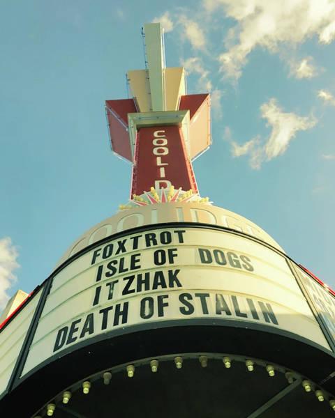 Photograph - Coolidge Corner Theatre - Brookline  by Joann Vitali