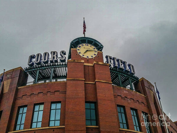 Photograph - Coors Field by Tony Baca