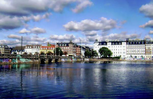 Photograph - Copenhagen Harbor by Anthony Dezenzio