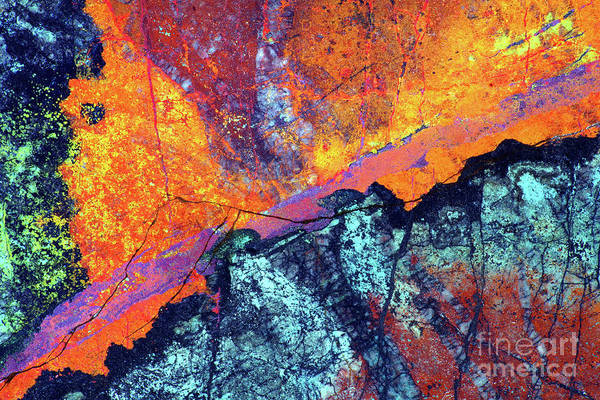 Wall Art - Photograph - Copper Mineralization by Douglas Taylor