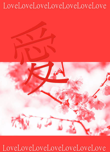 Wall Art - Photograph - Coral Japanese Spring by Jenny Rainbow