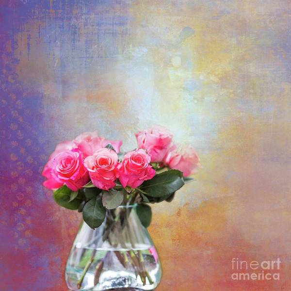 Photograph - Coral Roses by Eva Lechner