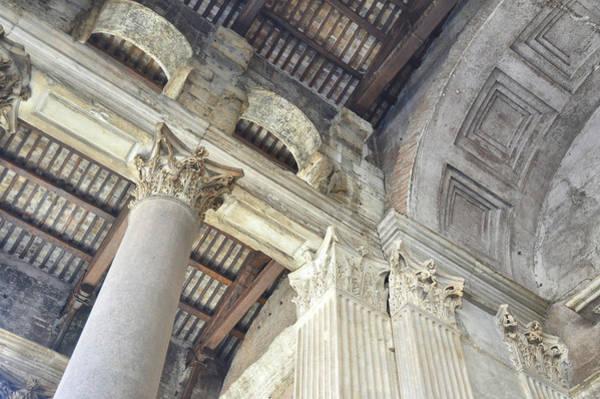 Photograph - Corinthian Column Texture by JAMART Photography