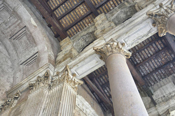 Photograph - Corinthian Columns History by JAMART Photography