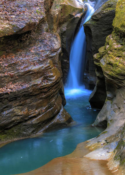 Photograph - Corkscrew Falls Ohio by Dan Sproul