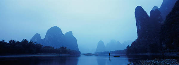 Wall Art - Photograph - Cormorant Fishing On Li River by David Yarrow Photography