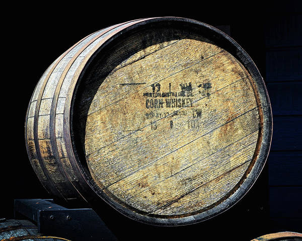 Photograph - Corn Whiskey Barrel Head by Bill Swartwout Photography