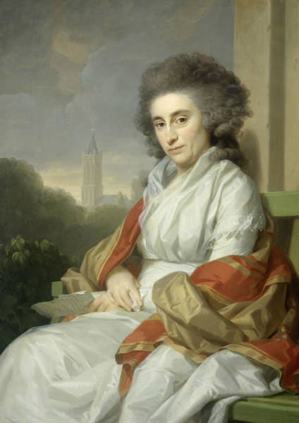 Painting - Cornelia Rijdenius by Johann Friedrich August Tischbein