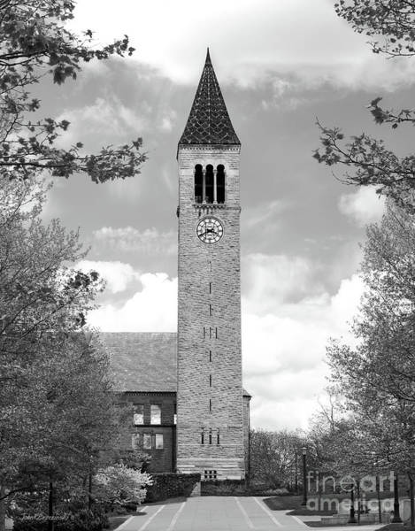 Colleges Photograph - Cornell University Mc Graw Tower by University Icons