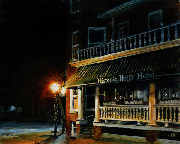 Painting - Corner Light by William Brody