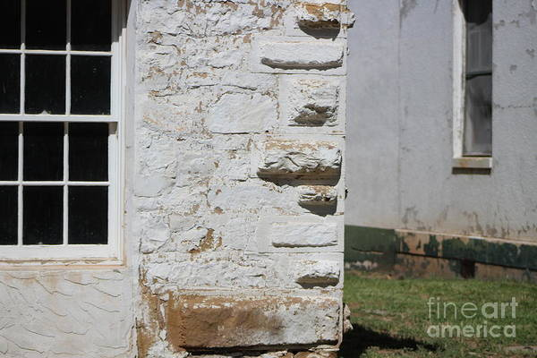 Photograph - Corner Of Hospital At Fort Stanton New Mexico by Colleen Cornelius