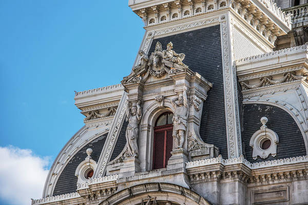 Wall Art - Photograph - Corner Window - City Hall - Philadelphia by Bill Cannon
