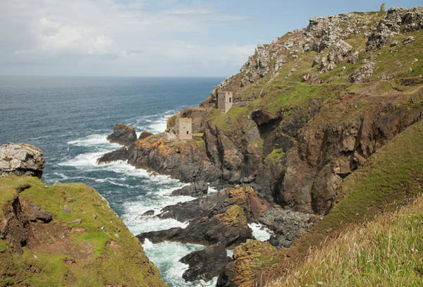 Physical Features Wall Art - Photograph - Cornish Coastline by Paulaconnelly