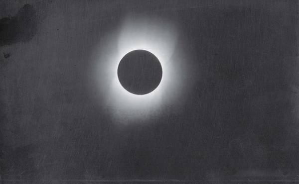 Wall Art - Painting - Corona Of The Sun During A Solar Eclipse by Celestial Images
