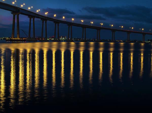 Photograph - Coronado Bridge - 1 by Jonathan Hansen