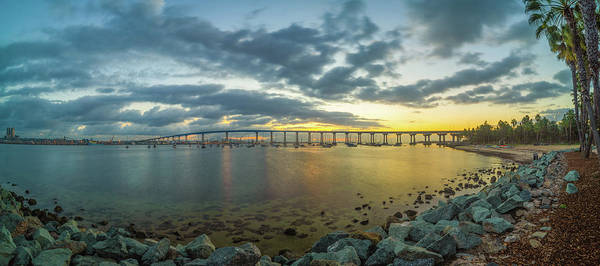 Photograph - Coronado Bridge by Jonathan Hansen