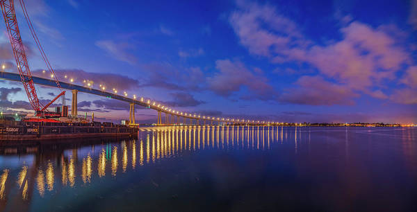 Photograph - Coronado Bridge Sunrise - Panorama by Jonathan Hansen