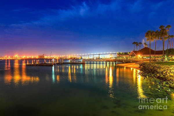 Photograph - Coronado Bridge Twilight by Benny Marty