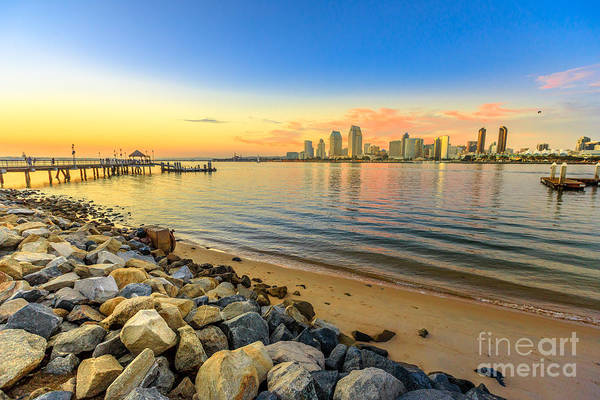 Photograph - Coronado Pier Sunset by Benny Marty