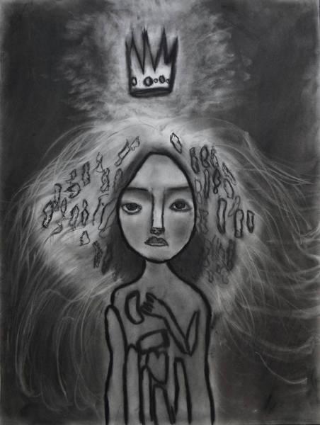 Drawing - Coronation by Nadija Armusik