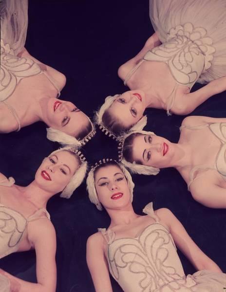 Photograph - Corp De Ballet by Baron