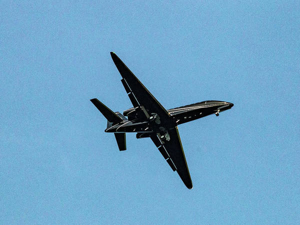 Wall Art - Photograph - Corporate Jet by William Rogers