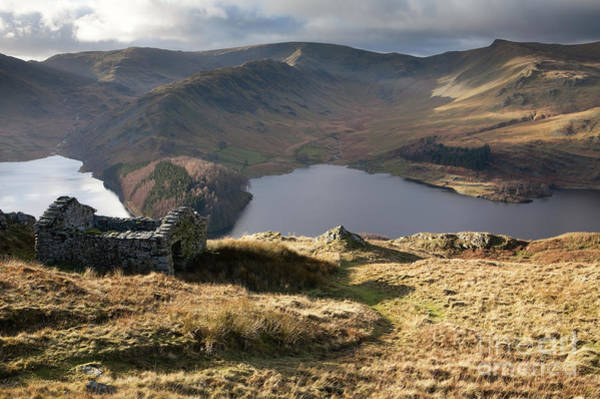 Haweswater Wall Art - Photograph - Corpse Road Climbing Out Of Mardale by Gavin Dronfield