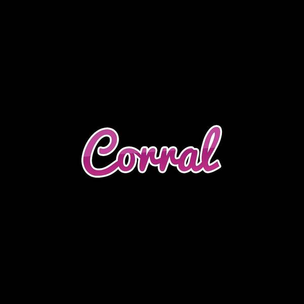 Corral Wall Art - Digital Art - Corral #corral by TintoDesigns