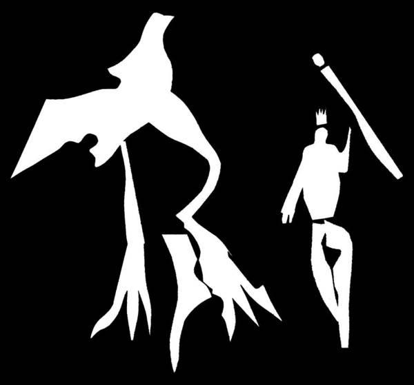 Digital Art - Corridor Bird 2 by Artist Dot