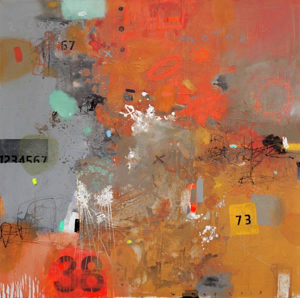 Wall Art - Painting - Corrosion Of Metal 4 by Viktor Sheleg