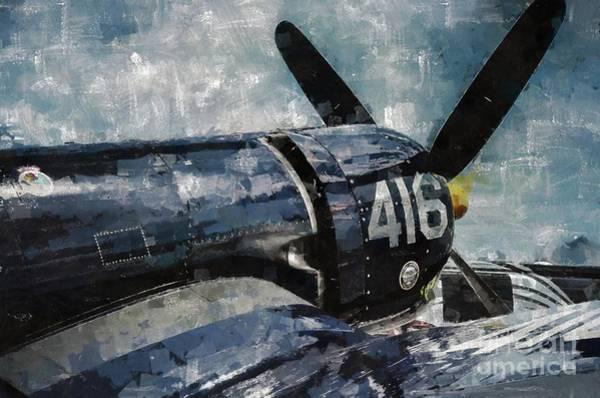 Corsair Painting - Corsair by Mary Bassett