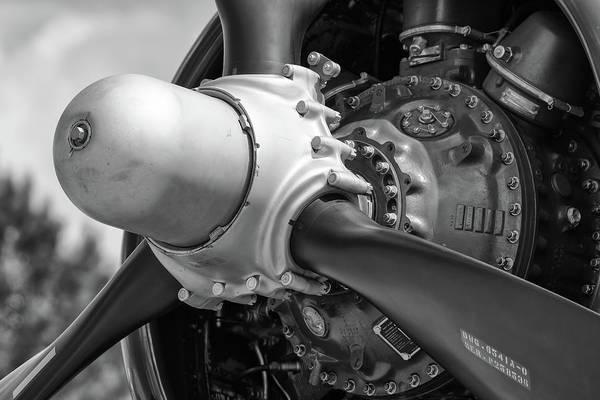 Photograph - Corsair Radial Engine by Chris Buff