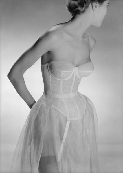 Bra Photograph - Corselet by Chaloner Woods