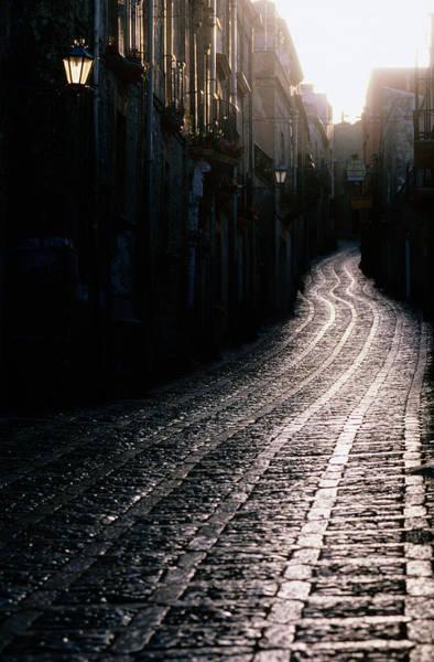 Sicily Photograph - Corso Vittorio Emanuele, Sicily, Italy by John Elk Iii