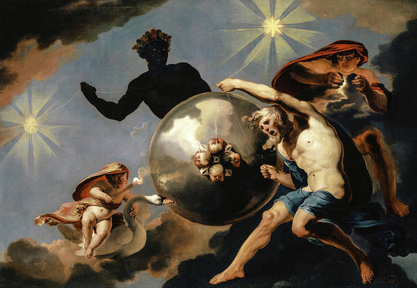 Wall Art - Painting - Cosmic Allegory by Abraham Hondius