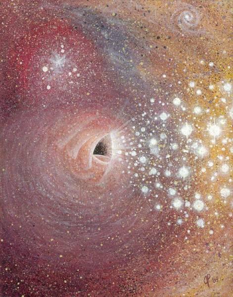 Wall Art - Painting - Cosmic Birth by Jana Parkes